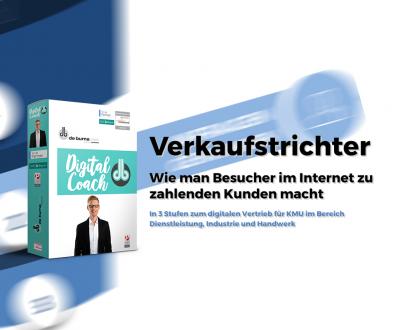 Verkaufstrichter - Digital Coach Beratung - vom Staat gefördert